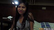 Trike Patrol - Cute Filipina MILF gets fucked by big white cock