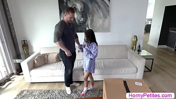 Petite Jasmine rides on her mans bigcock in reverse cowgirl 6 min