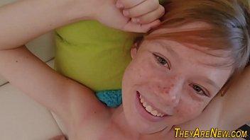 Teen ginger porno newbie