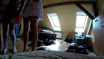 Upskirts in Changing Room, Naked and Changing Clothes, Bottoms Up Hidden Cam Adventures