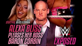 Wrestling Exposed - Alexa Bliss pleases her boss Baron Corbin