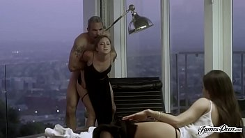TROPHY WIFE REMY LACROIX ANALLY PUNISHED IN FRONT OF HER HUSBAND'S SECRETARY - Featuring: Remy Lacroix / Steven St. Croix