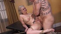 Boss fucks huge tits blonde secretary