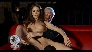 Skinny girl enraged the Master and receives punishment
