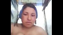 Al aire libre en el baño mexicana