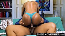 HD BBC Creampie Cum Deep Inside Young Tiny Ebony Pussy Riding Big Dick Hardcore With Panties On , Msnovember Fucking Cowgirl Poking Big Juicy Ass Butt Out , Hardcore Sex Ride Cum Dripping Out Vagina  Fuck HD Sheisnovember Video 2 min