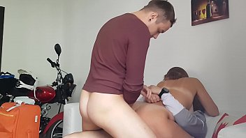a neighbor came to visit and asked to fuck her in all holes