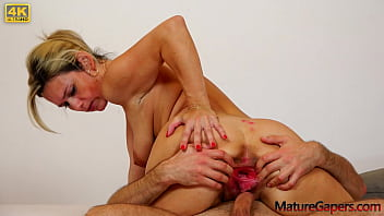 Sweet submissive MILF Jenny Smith gets her pussy stretched, gaped and fucked hard