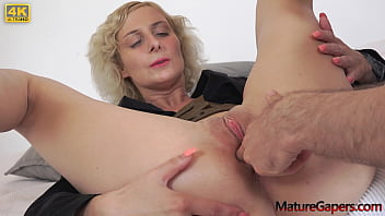 Sexy young big busty MILF Kaylea Tocnell gets her pussy hard gaped and fucked