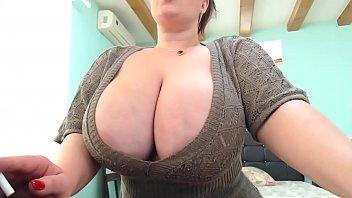 amazing huge boobs on webcam