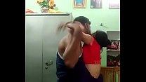 Desi couple standing fuck