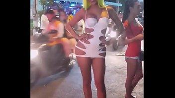 Thailand Ladyboys Streetwalkers in Pattaya