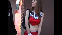 Cheerleader Scarlett Faye fucks for money