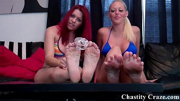 You escaped from chastity now lick it clean