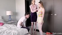 BROTHER punishes SISTER with MOM-Bunny Colby