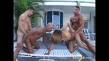 Naughty bisexual hard fuck sex 13 min
