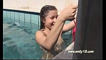 Emily 18 - pool complete