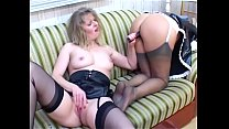 Mature lesbo ladies are licking each others feet cunts and boobs