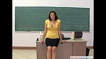 Naughty America - Find Your Fantasy Charlie James fucking in the classroom