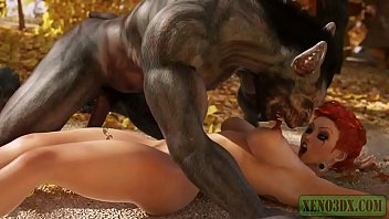 Monster of the Caribbean. 3D Parody