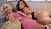 Thick Big Booty Latina Scarlett twerks on her curvy Love Doll