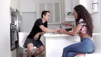 Ebony Sister Is Interested In Brother's Cock- Demi Sutra