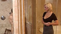 Rich Penthouse Milf picks up ripped homeless guy seduces and fucks his lights out