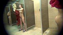 HIDDEN CAMERA IN PUBLIC FEMALE SHOWER ROOMS