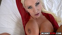 Hot mommy impregnated by step son