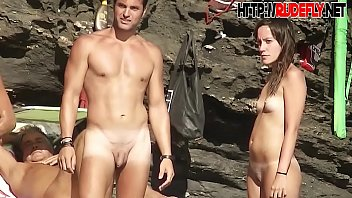 shaved pussy spread on the beach hidden camera 5 min