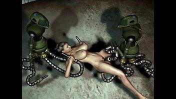 3D Animation: Robots Sex Attack