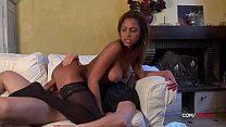 Perfect ass French black girl anal sex by a huge dick