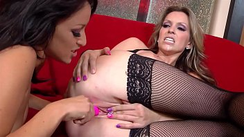 Big Tits MILF Strippers go wild and crazy at home