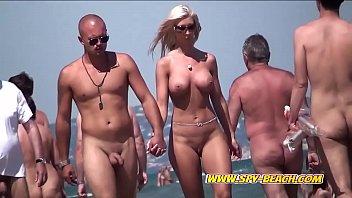 Big Boobs Nudist Amateurs Voyeur Beach Compilation Video 7 min