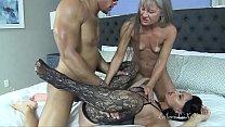 Leilani Lei and Rita Daniels Share a Sexy Man