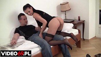Polskie porno - Footjob made in Poland (Pieszczenie kutasa stopami tak się robi w Polsce)