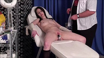 Patients medical fetish and bizarre doctors bdsm of enslaved gyno submissive Emily Sharpe