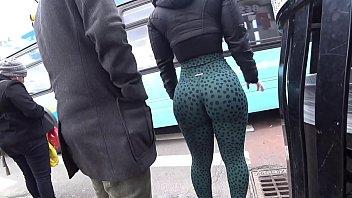 Nice ass in tight leggings