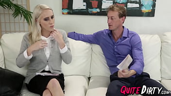 Busty Cadence Lux has hungry pussy that is filled with cum