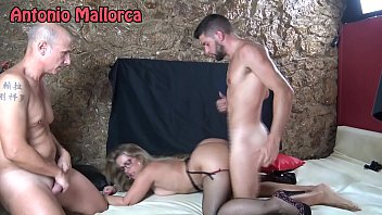 Fucking a Milf in Front of Her Cuckold Husband in a Swinger Club
