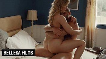 Blonde babe (Riley Reyes) has a sensual evening with (Damon Dice) - Bellesa