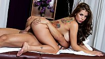 Yurizan Beltran receives an erotic massage and gets doggy fucked hardcore