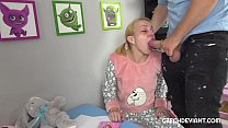 Blonde in b. clothes gets rammed 8 min