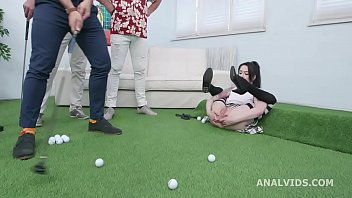 Anal Prowess, Anna de Ville deviant evolution with Balls Deep Anal, DAP, Gapes, Buttrose and Swallow GIO1463 2 min