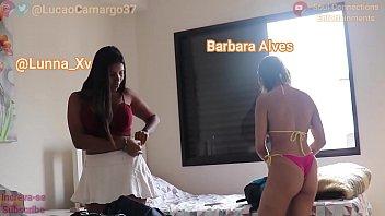 Três amigas vão pra praia e uma delas se dá bem com o caseiro do hostel (Lucão , Lunna Vaz , Barbara Alves , Lorena Vasconcellos )