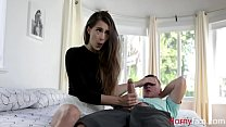 Nerd Sister Fucks Brother With Blue Balls- Sofie Reyez