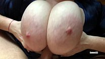 I LOVE TO FUCK HER BIG TITS - HOT AMATEUR TITJOB POV 2