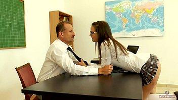 Seducing my mature teacher in detention (short version)