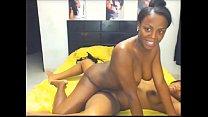 Ebony Lesbians Grinding Hard