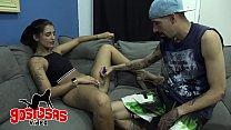 Tatuador visita clientes a domicilio, o que ele nao sabia que o pagamento é sexo - julia mattos e billygun
